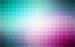 Retro wzór geometryczni kształty mozaika kolorowa ilustracji