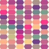 Retro wzór geometryczni kształty. Zdjęcia Royalty Free