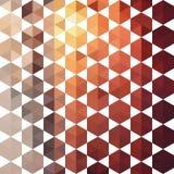 Retro wzór geometryczni kształty Obraz Royalty Free