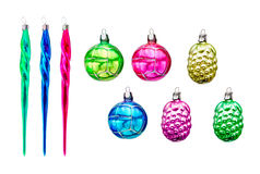Retro Xmas Decoration Royalty Free Stock Image