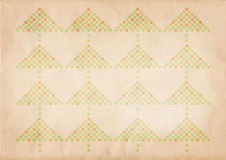 Retro xmas pattern royalty free stock images