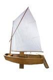 Retro yacht Stock Photography