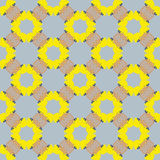 Retro yellow background Royalty Free Stock Images