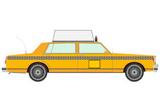Retro yellow cab. Stock Image