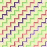 Retro- Zig Zag -Muster stockfotografie