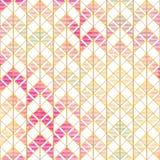 Retro zigzag seamless pattern Stock Photo