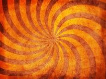 Retro zonne de stralenvormen van de grungetextuur Stock Afbeeldingen