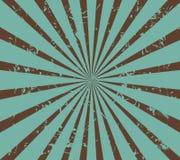 Retro zonnestraal vector illustratie