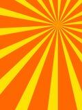 Retro zonnestraalontwerp Royalty-vrije Stock Fotografie