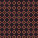 Retro Zwart Plaid Abstract Kleurrijk Modieus Net Mesh Pattern Background Stock Afbeeldingen
