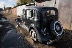 Retrocar GAZ-M-1 Emka年生产1936-1943 免版税图库摄影