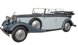 Retrocar of 1930s without canvas top Royalty Free Stock Photo