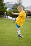 Retroceso del fútbol Fotos de archivo