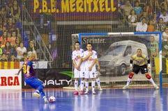 Retrocesso livre de Futsal Fotos de Stock