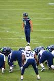Retrocesso Steven Hauschka dos Seattle Seahawks Fotos de Stock