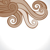 Retrol swirl design background Royalty Free Stock Images