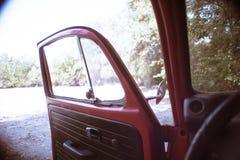 Retromobile drzwi Obraz Stock