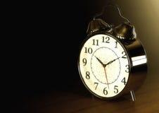 Retrostil-Uhr stockbild