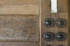 retro lichtschalter stockfoto bild von schmutzig. Black Bedroom Furniture Sets. Home Design Ideas