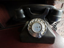 Retrostiltelefon Lizenzfreie Stockfotografie