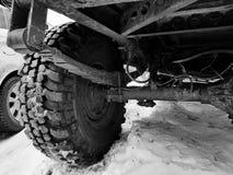 Retrovisione automobilistica nell'ambito del fondo fotografia stock libera da diritti