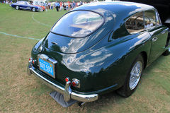 Retrovisione britannica classica dell'automobile sportiva Fotografie Stock Libere da Diritti