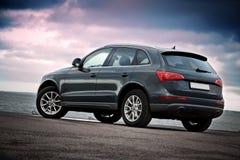Retrovisione del lusso SUV Immagine Stock Libera da Diritti