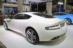 Retrovisione dell'automobile di Aston Martin db9 Fotografia Stock Libera da Diritti