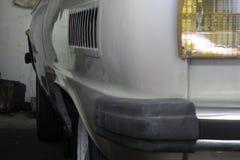 Retrovisione dell'automobile dell'ente d'annata del compatto Fotografia Stock