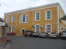 Retrovisione di Falmouth Giamaica del tribunale fotografia stock libera da diritti