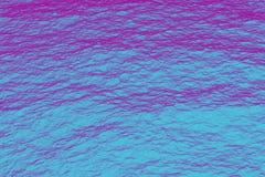Retrowave紫外海紫色和蓝色半音纹理 免版税图库摄影