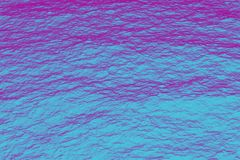 Retrowave ultraviolet sea purple and blue halftone texture. D background Royalty Free Stock Photography