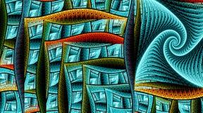 Rettangoli del modello La geometria sacra royalty illustrazione gratis