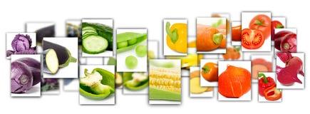 Rettangoli di verdure della miscela Immagine Stock Libera da Diritti