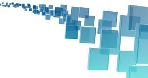 Rettangoli di vetro Fotografia Stock