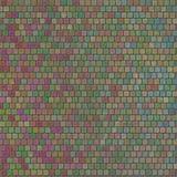Rettangoli variopinti di progettazione di struttura del mosaico con il BAC della superficie ruvida Immagine Stock Libera da Diritti