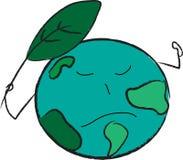 Retten Sie die Erde Lizenzfreie Abbildung