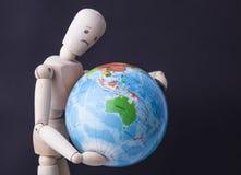 Retten Sie die Welt Lizenzfreie Stockfotos