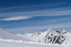 Rettenbach Glacier, Solden, Austria. Stock Photo