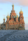 Retter auf verschüttetem Blut, St Petersburg, Russland Stockfoto