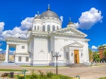 Retter-Kathedrale Nischni Nowgorod Russland Lizenzfreie Stockbilder