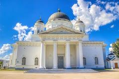 Retter-Kathedrale Nischni Nowgorod Russland Stockbild