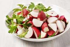Rettich-Salat Lizenzfreies Stockbild