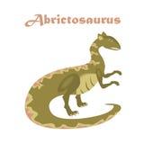 Rettile giurassico Vettore del dinosauro Fotografie Stock