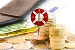 Rettung der Wirtschaftlichkeit Lizenzfreie Stockfotografie