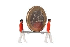 Rettung des Euro Stockfotos