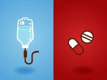 Rettung, Notfall, dringend, Gesundheitswesen, Stützikone infogra stock abbildung