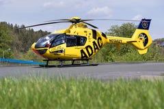 Rettungs-Hubschrauber Stockfotografie