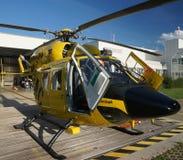 Rettungs-Hubschrauber Stockbild