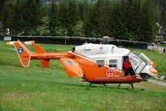 Rettungs-Hubschrauber Lizenzfreies Stockbild